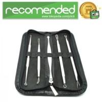 Face Care Stainless Steel Skin Acne Pimple Remover Kit - No Color