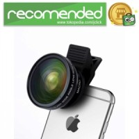Lensa Kamera HP - Wide Angle Lens 0.45x   Macro 12.5x for Smartphone