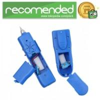 Tracker Tester Kabel Jaringan RJ45 RJ11 CAT5 CAT6 UTP STP - Biru
