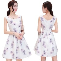 Dress Wanita Import Baju Pesta Import Katun kombinasi Gauze 787