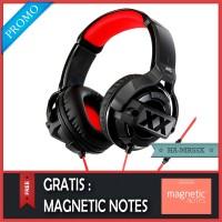 JVC HA-MR55X DJ Headphones Original - Gratis Magnetic Notes