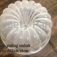 cetakan pudding plastik type tinggi / cetakan agar type bolu tinggi