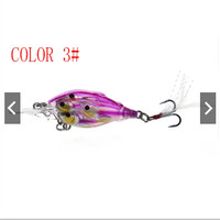 Minnow Fishing Lure Eyes 4D Minnow Ikan 4 Dimensi