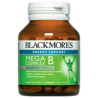 blackmores mega B complex vitamin B vit B 75 tablet OBRAL
