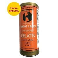 great lakes beef gelatin and collagen joint care 454 g MURAH