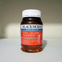 Jual blackmores total calcium magnesium + d3 vitamin d3 d-3 200 tabs Murah