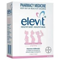 elevit with iodine 100 tabs vitamin kehamilan pregnancy PROMO Special