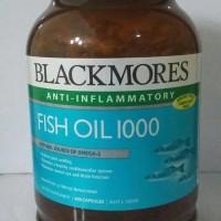 blackmores black mores fish oil 1000 mg 400 sg minyak ikan omega 3