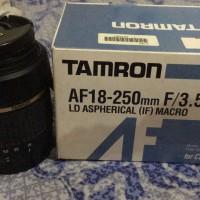 lensa Tamron AF 18-250 MM Sapu Jagat wide Tele