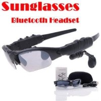 Wireless Bluetooth Sunglasses Headset Sport Stereo MP3 Music G Promo