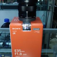 lensa sony E mount 35mm F 1.8 oss resmi