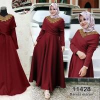 MAXI Dress ! fashion muslimah trend wanita 2017 gamis kekinian -11428