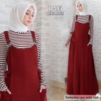 TERLARIS !MAXI OVERAL baju syari hijab trend muslim wanita terbaru