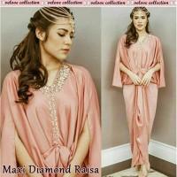 STOK TERBATAS CGD 01 Maxi kaftan diamond raisa (maron,peach,tosca,abu)