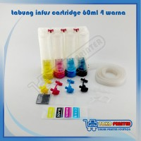 Tabung Infus Printer Epson 60ml 4 warna