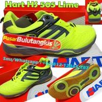 Sepatu Bulutangkis Hart HS 505 Lime