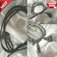 Kabel Power Printer, Tape, Radio, CD Player, Jack AC 8 Cord Gepeng