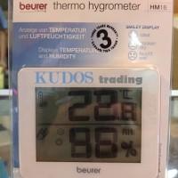 Obat Alat Kesehatan Thermo Hygrometer beurer HM16 HM 16 ber SNI BPOM