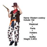 Baju cowboy cosplay costume koboi pria halloween dewasa