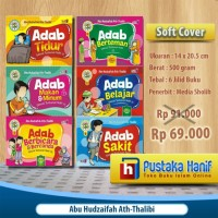 Buku Serial Adab Anak Islam 6 Jilid + Bonus Stiker Islami