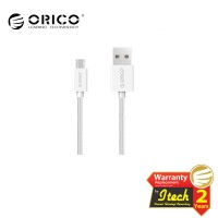 ORICO MDC-10 Strong Nylon Micro USB Data Fast Charging Cable - WHITE