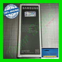 Batre Baterai Battery Samsung Galaxy Note 4 Original 100%