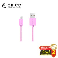 ORICO MDC-10 Strong Nylon Micro USB Data Fast Charging Cable - PINK