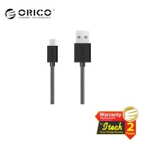 ORICO MDC-10 Strong Nylon Micro USB Data Fast Charging Cable - BLACK