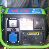 BARU GENSET BENSIN CAMPUR PORTABLE KECIL ATOMIC/SUMURA/POWERONE 600W