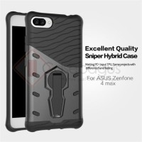 Asus Zenfone 4 Max Pro ZC554KL Rotate Armor Stand Case Casing Cover