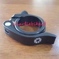CS Seatpost Clamp Seatclamp DAHON TERN 41mm BLACK Quick Release