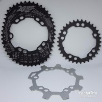 CS Chainring Oval DOVAL 52 36 High Ovality 2G Pro