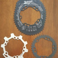 CS Chainring Oval DOVAL 2G High Ovality 52 36T
