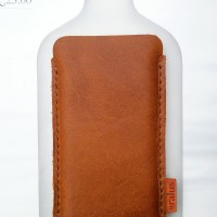 Genuine Leather Case Apple Iphone 5 / 5s Pouch Sleeve HP Kulit Asli