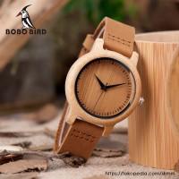 Jam Tangan Wanita / Pria Kayu / Wooden Watch BOBO BIRD A09 / A10