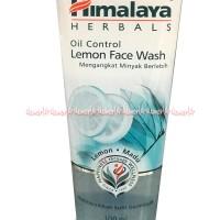 Himalaya Oil Control Lemon Face Wash 100ml Pembersih Wajah Sabun Cuci