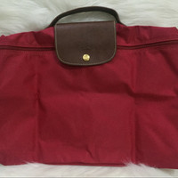 longchamp document / laptop bag le pliage