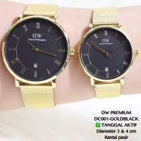 Jam tangan couple guess pasangan rantai tali pasir new model grosir