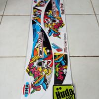 striping/lis/sticker variasi FINO JOKER hitam-putih-merah-biru