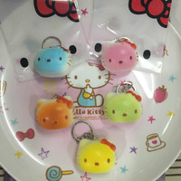 Jual Squishy Murah Mini Cute Hello Kitty Head With packaging Murah