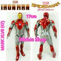 Action Figure Iron Man Mark XLVII (loose) Marvel Spiderman Homecoming