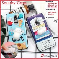 Squishy Case iPhone 6 Redmi Note 4 4x 4a Samsung J2 prime J7 pro Oppo