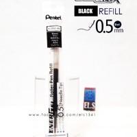 Pentel EnerGel X 0,5 - Refill Hitam