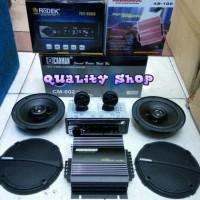paket tape mobil usb,power 2 ch plus speaker 6