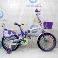 16in Kouan Hexagon Folding Sepeda Lipat Anak Usia 4 - 10 Tahun