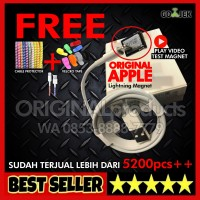 CABLE KABEL DATA CHARGER ORI 100% IPHONE 5/s/6/6+ ipadmini ORIGINAL
