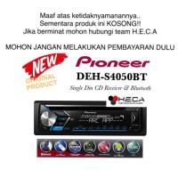 Pioneer DEH-S4050BT Bluetooth Single Din Tape Mobil Audio DEH S4050 BT