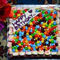 cake Brownies Full  Topping