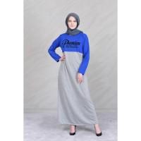 Baju Muslim Wanita Terbaru Jfashion Gamis Kombinasi warna plus