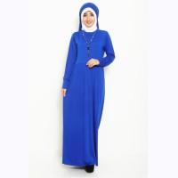 Baju Muslim Wanita Terbaru Jfashion Gamis Selena Elegan dan Trendy